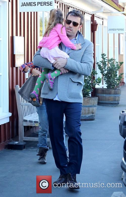Ben Affleck and Seraphina Affleck 10