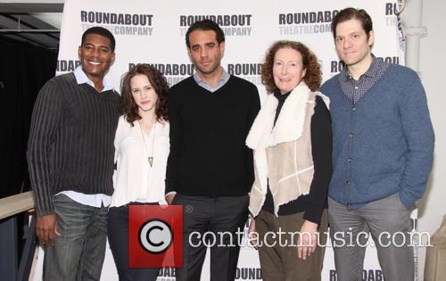 Bobby Cannavale, Billy Eugene Jones, Rachel Brosnahan and Adam Rapp 2