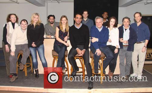 Brenda Wehle, Richard Kind, Ana Reeder, Reg Rogers, Marin Ireland, Bobby Cannavale, Adam Rapp, Doug Hughes, Billy Eugene Jones, Rachel Brosnahan, Chip Zien and Joey Slotnick 1