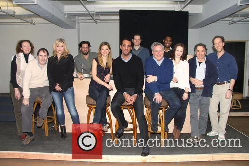 Brenda Wehle, Richard Kind, Ana Reeder, Reg Rogers, Marin Ireland, Bobby Cannavale, Adam Rapp, Doug Hughes, Billy Eugene Jones, Rachel Brosnahan, Chip Zien and Joey Slotnick 2