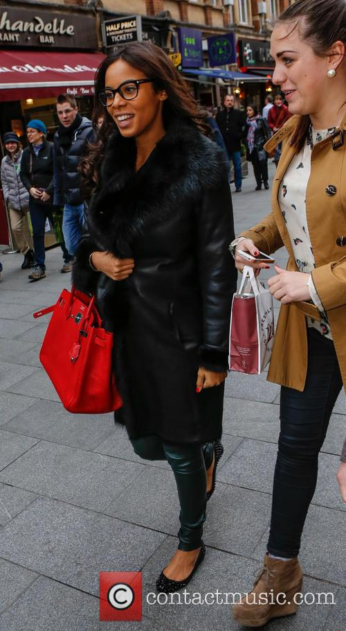 Rochelle Humes, Rochelle Wiseman and The Saturdays 5