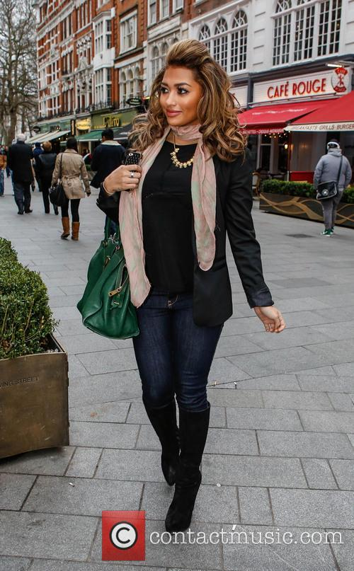 Vanessa White and The Saturdays 8