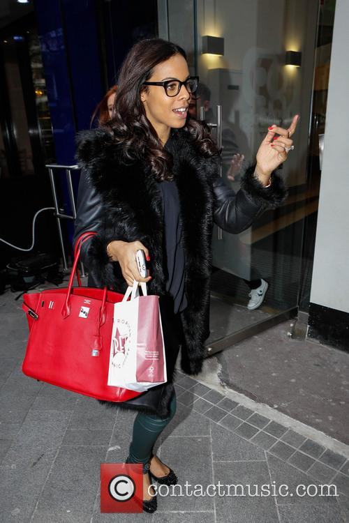 The Saturdays, Rochelle Humes and Rochelle Wiseman 1