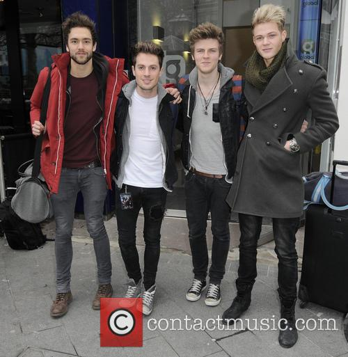 Andy Brown, Ryan Fletcher, Joel Peat, Adam Pitts and Lawson 3