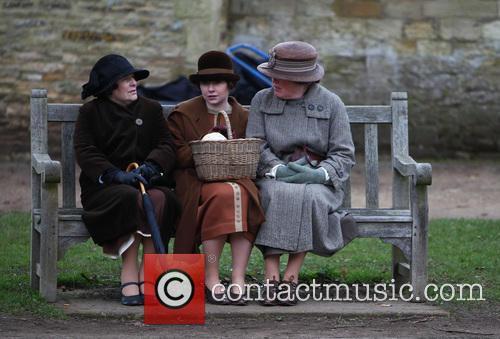 'Downton Abbey' filming