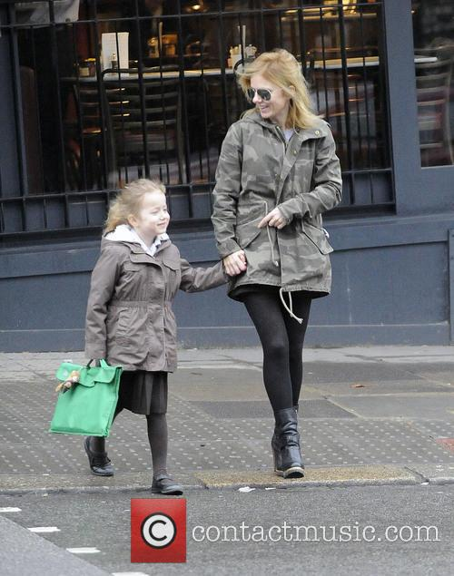 Geri Halliwell and Bluebell Halliwell 7