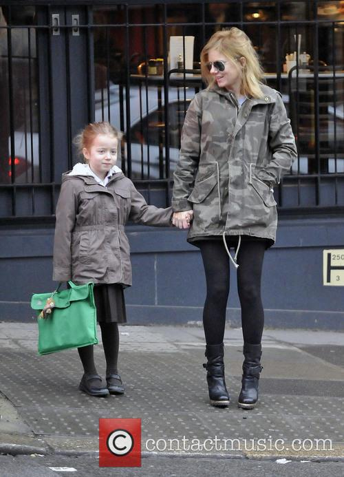 Geri Halliwell and Bluebell Halliwell 1