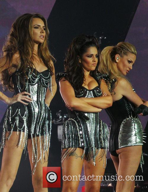 Girls Aloud, Nadine Coyle, Cheryl Cole and Sarah Harding 7