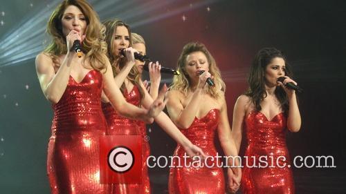 Girls Aloud, Kimberley Walsh, Nicola Roberts, Nadine Coyle, Cheryl Cole and Sarah Harding 11