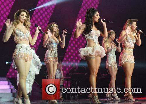 Girls Aloud, Kimberley Walsh, Nicola Roberts, Nadine Coyle, Cheryl Cole and Sarah Harding 12