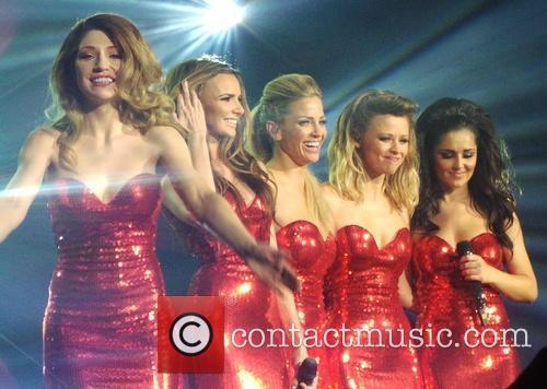 Girls Aloud, Kimberley Walsh, Nicola Roberts, Nadine Coyle, Cheryl Cole and Sarah Harding 15