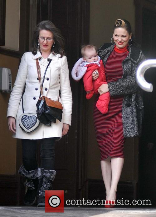 Imelda May and Daughter Violet Kathleen Higham 1