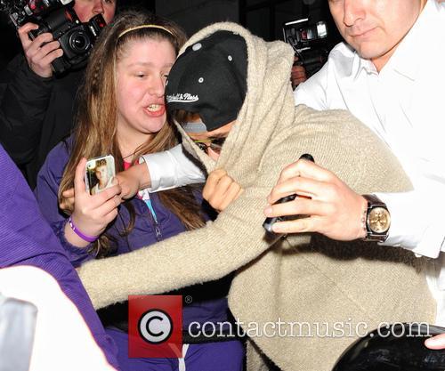 Justin Bieber's fans in London