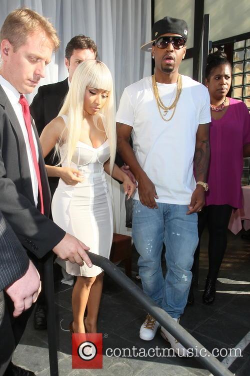 Nicki Minaj, Scaff Breezy and SB 7