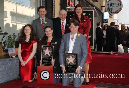 Maria Burton, Michael Sheen, David Rowe-Beddoe, Kate Charlotte and Morgan Ritchie 3