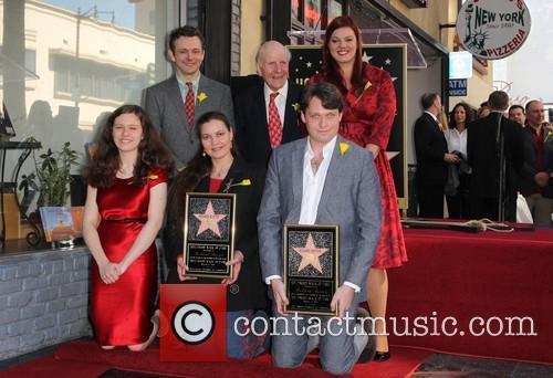 Maria Burton, Michael Sheen, David Rowe-Beddoe, Kate Charlotte and Morgan Ritchie 4