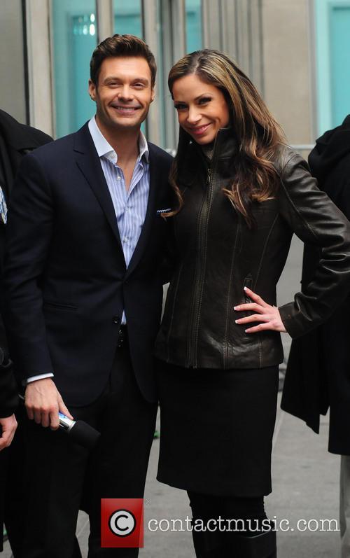 Ryan Seacrest and Jill Nicolini 1
