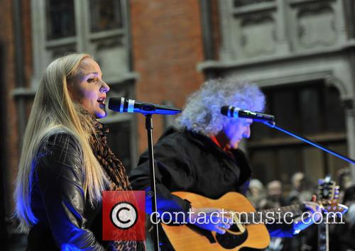 Brian May and Kerry Ellis 2