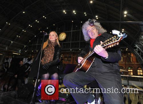 Brian May and Kerry Ellis 8