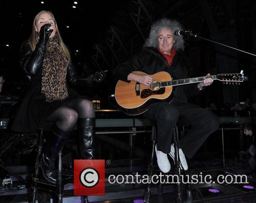 Kerry Ellis and Brian May 3