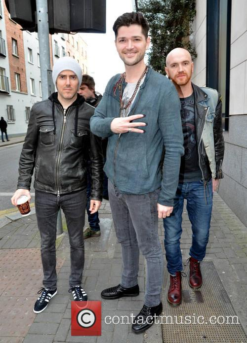danny o'donoghue mark sheehan glen power the script the script 3534915