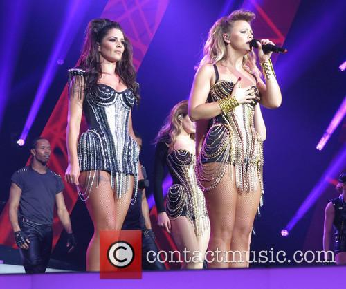 Kimberley Walsh and Cheryl Cole 3