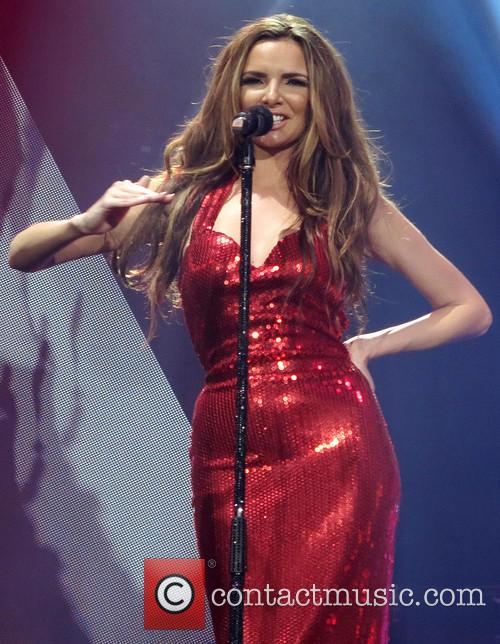 Girls Aloud perform live at the O2