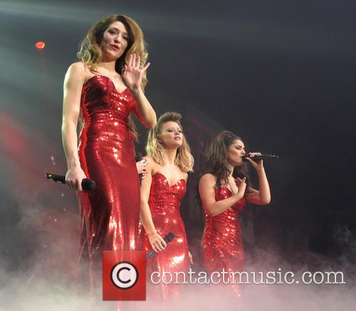 Nicola Roberts, Kimberley Walsh and Cheryl Cole 1