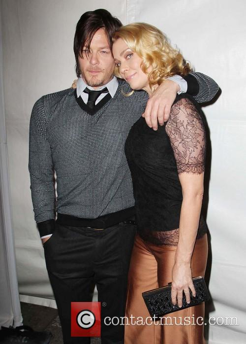 Norman Reedus and Laurie Holden 3