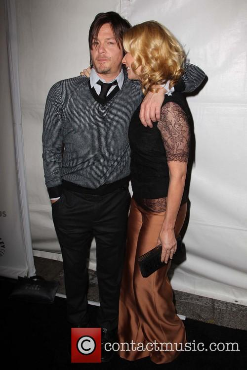 Norman Reedus and Laurie Holden 5
