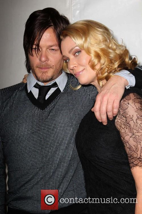 Norman Reedus and Laurie Holden 6