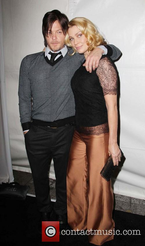Norman Reedus and Laurie Holden 8