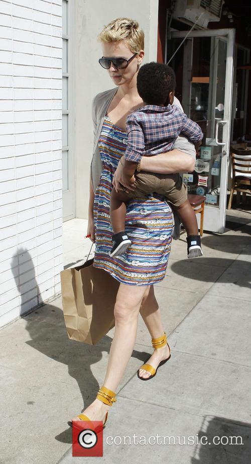 Charlize Theron and Jackson Theron 27