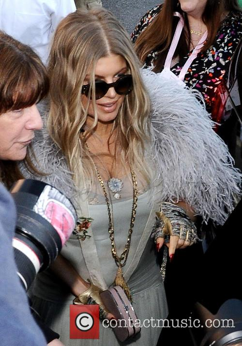 Fergie At The Ivy