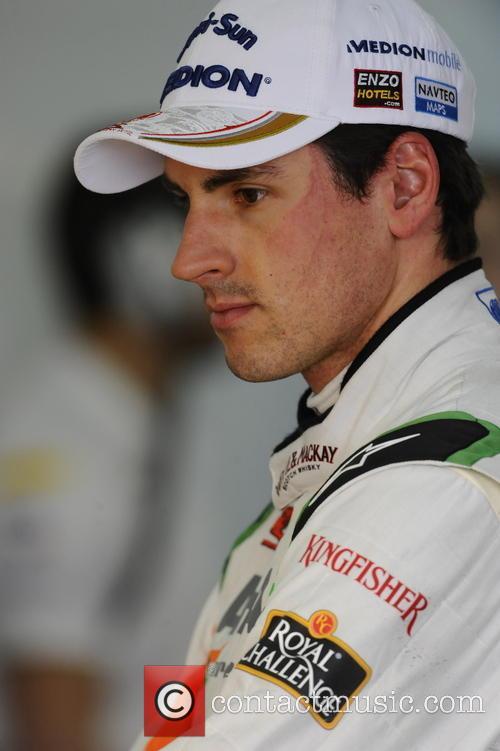 Adrian Sutil Of Germany 2