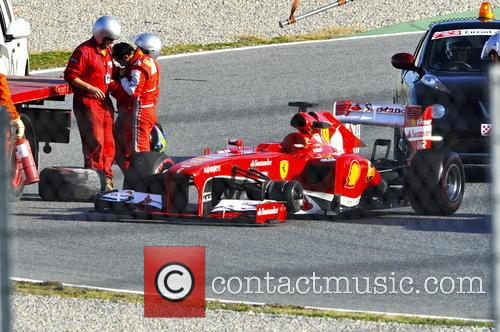 Felipe Massa and Had To Be Towed 2