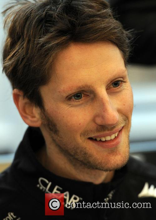 Romain Grosjean Of France and Ch 5