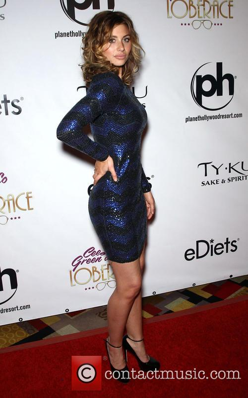 aly michalka red carpet grand opening for 3536936