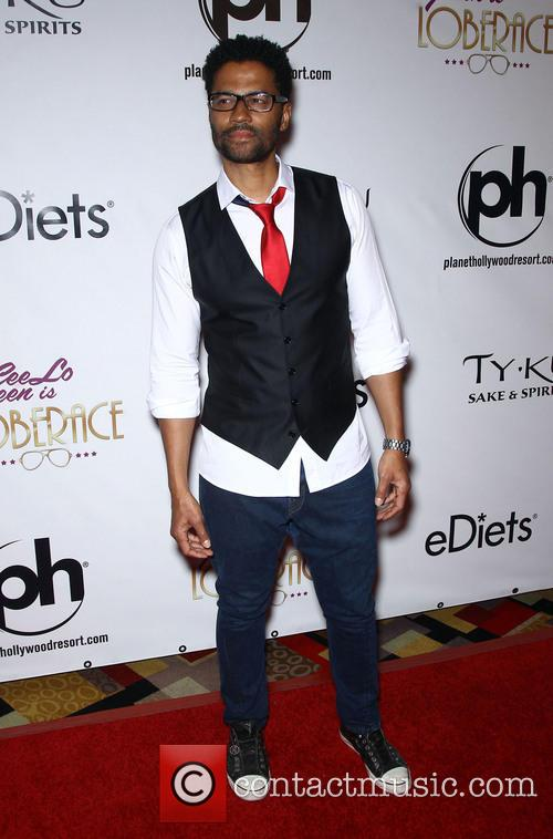 eric benet red carpet grand opening for 3536957