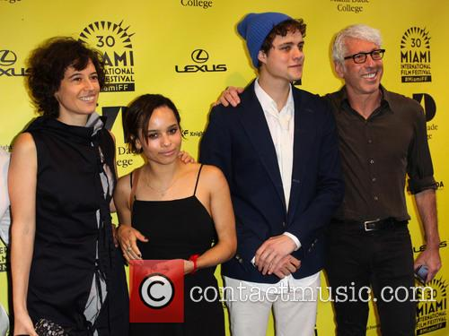 Zoe Kravitz, Analeine Cal Y Mayor, Douglas Smith and Niv Fichman 4