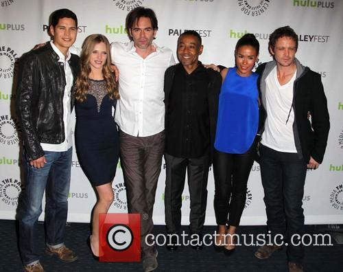Jd Pardo, Tracy Spiridakos, Billy Burke, Giancarlo Esposito, Daniella Alonso and David Lyons 2