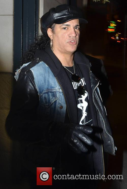 Slash leaves his hotel