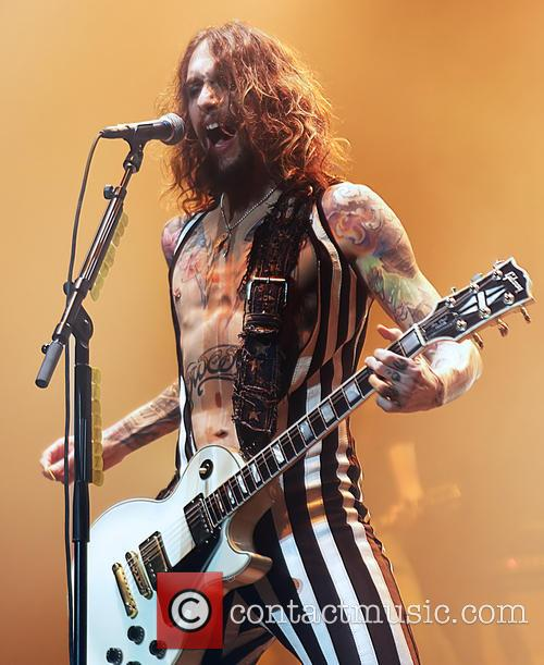 The Darkness perform live