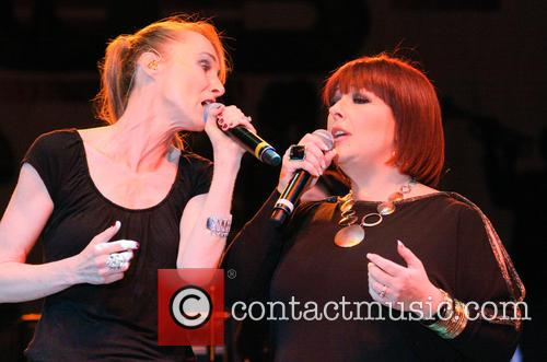 Carnie Wilson and Chynna Phillips