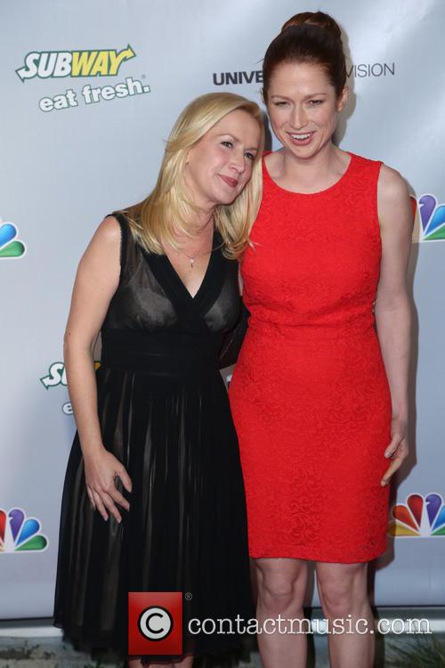 Angela Kinsey and Ellie Kemper 2