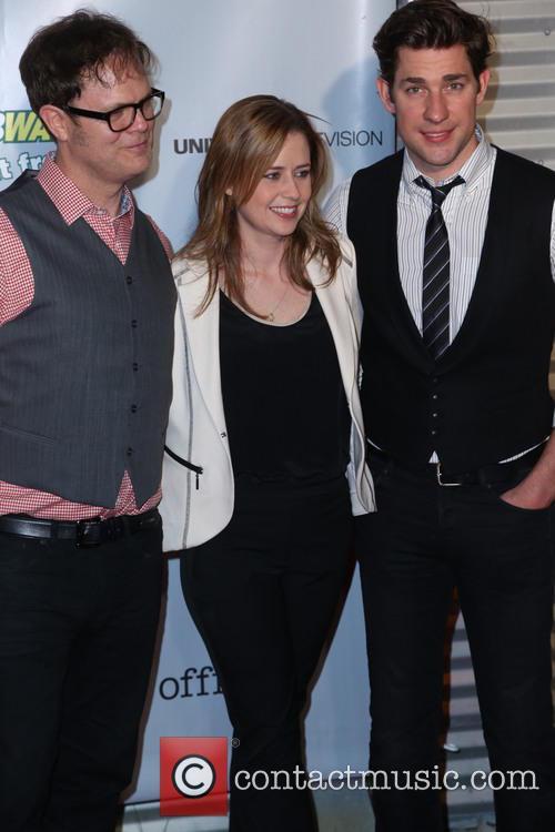 Rainn Wilson, Jenna Fischer and John Krasinski 5