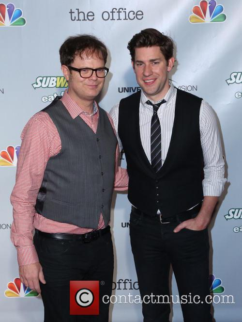 Rainn Wilson and John Krasinski 4