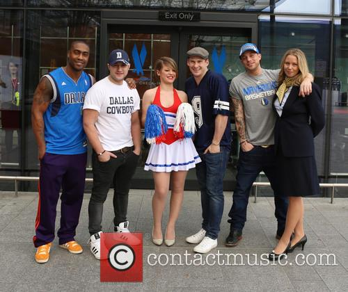 Simon Webbe, Antony Costa, Lee Ryan and Duncan James Of Blue 4