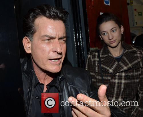 Charlie Sheen and Georgia Jones 2