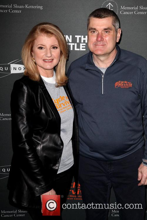 Arianna Huffington and Dr. Craig Thompson 2